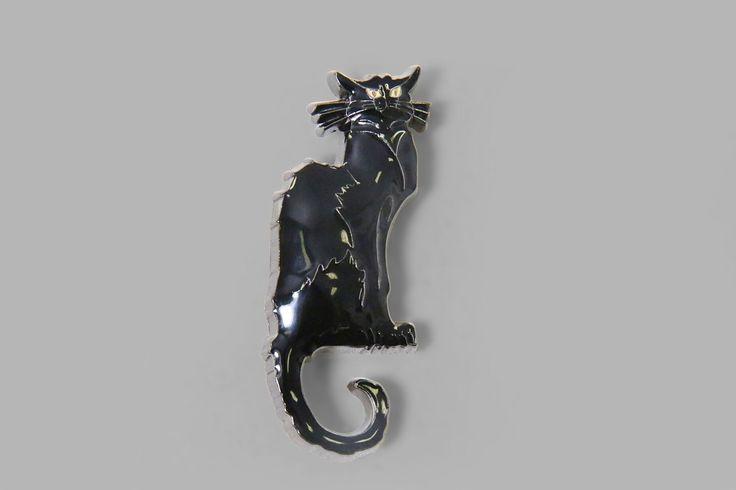 Le Chat Noir Black Cat Brooch