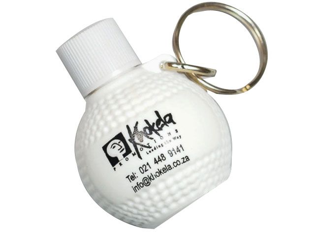 Sun Lotion Keyring at Golf- Accessories | Ignition Marketing Corporate Gifts http://www.ignitionmarketing.co.za/golf-days
