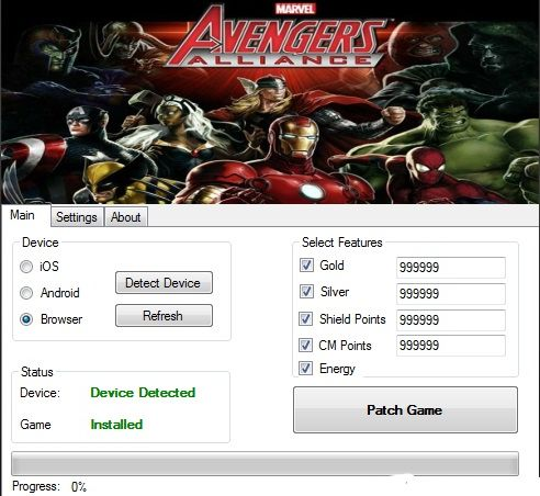 Download Avengers Alliance Hack Tool Working Free Cheats
