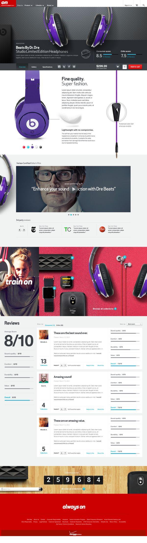 On - #web #design