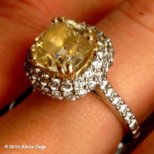 Alexa Vega Loves Her Engagement Ring From Carlos Pena