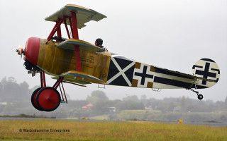 Fokker Dr1 Tauranga airshow 2014
