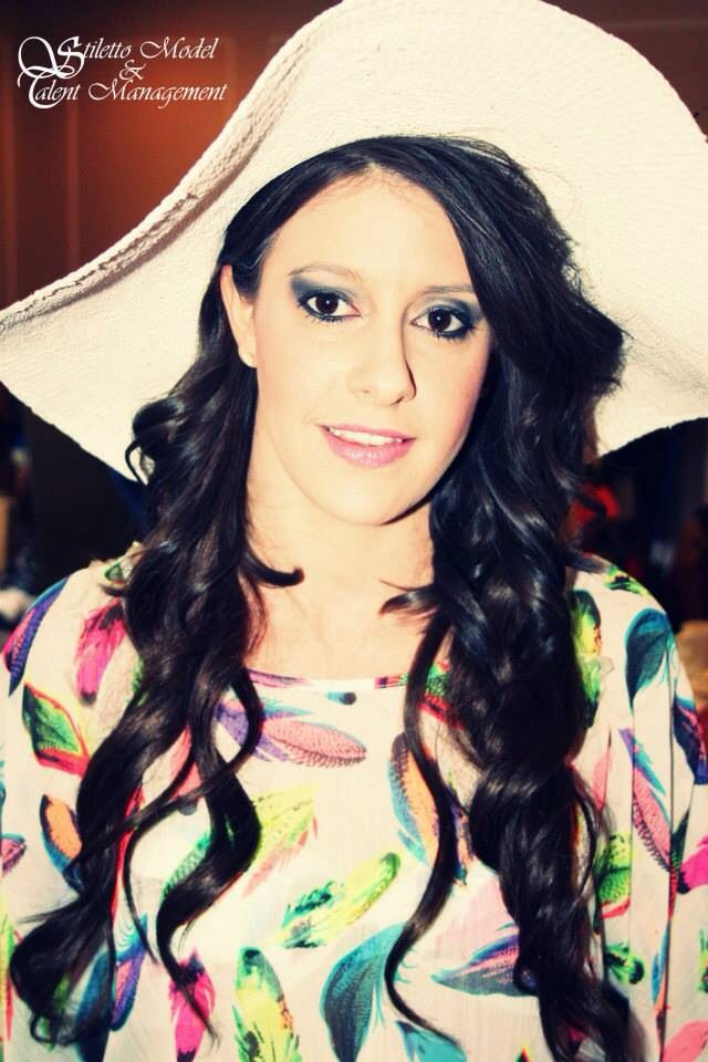 "SMTM Model ""Ashley"" @ the Escape to Rio Fashion Show 2012"