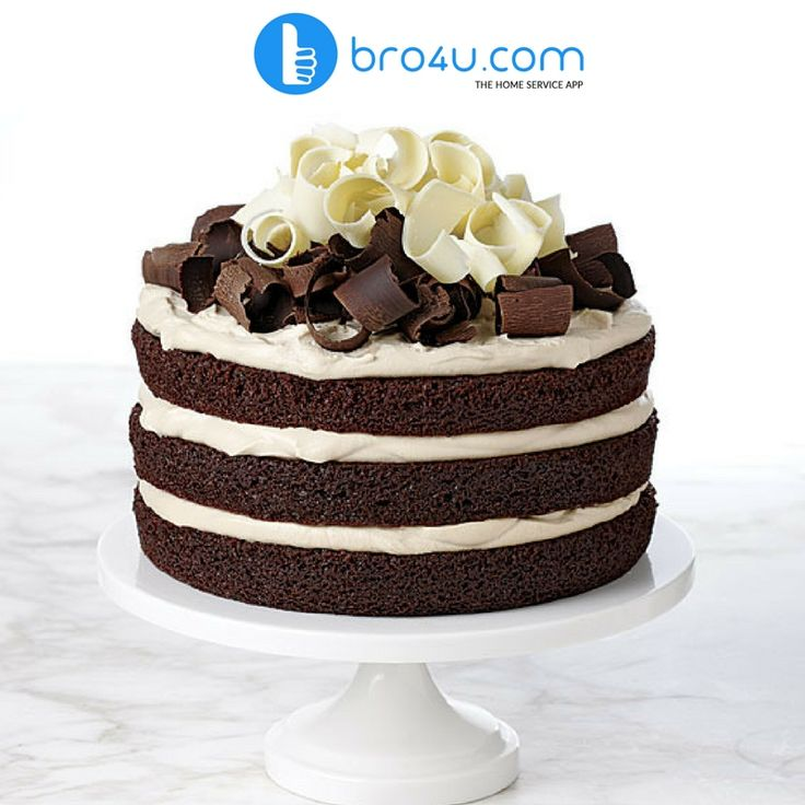 The cakes are freshly prepared by the best cakes shops in Bangalore to deliver the delicious cakes to add that extra joy to your celebrations. #bro4u #cake #delivery #service #bangalore #home_services
