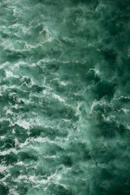 // aerial photograph of the sea