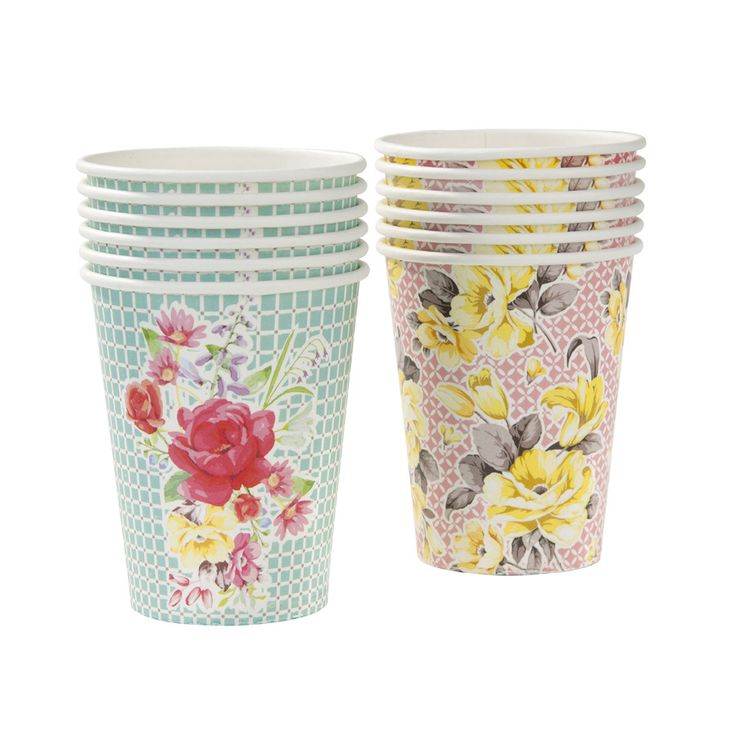 Truly Scrumptious Paper Cups | Paper & Party Love $5.50/12pk