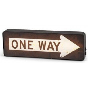 ONE WAY SIGN LED