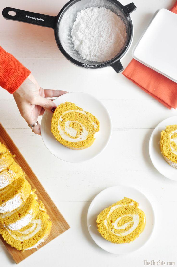 rachel hollis recipe for pumpkin roll
