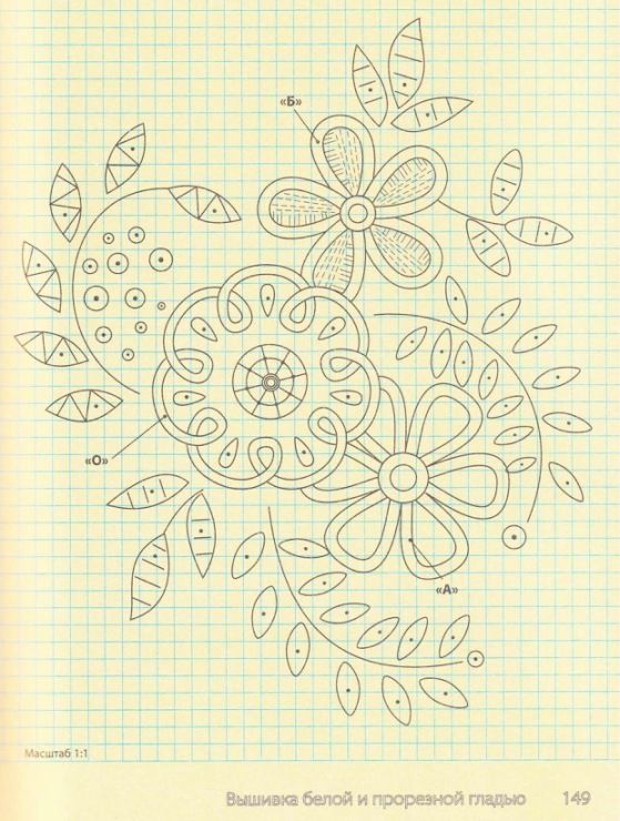 Possible quilting pattern. from Gallery.ru / Фото #149 - Вышивка гладью - Los-ku-tik
