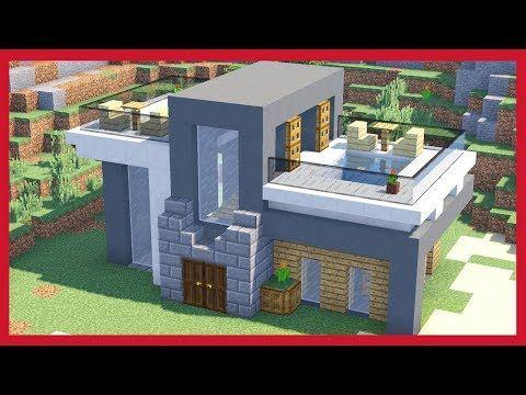 M s de 25 ideas incre bles sobre casa minecraft en for Mirote y blancana casa moderna