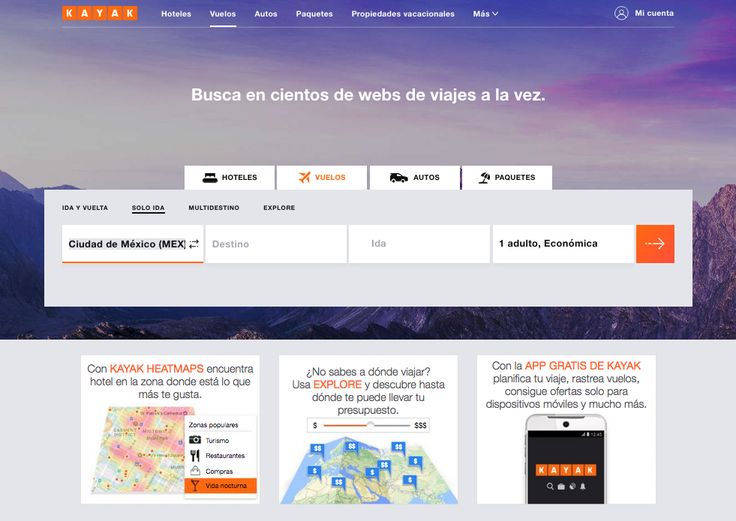 KAYAK lanza nuevo diseño de página web y aplicación móvil - https://webadictos.com/2017/07/11/kayak-lanza-nuevo-diseno-pagina-web-aplicacion-movil/?utm_source=PN&utm_medium=Pinterest&utm_campaign=PN%2Bposts