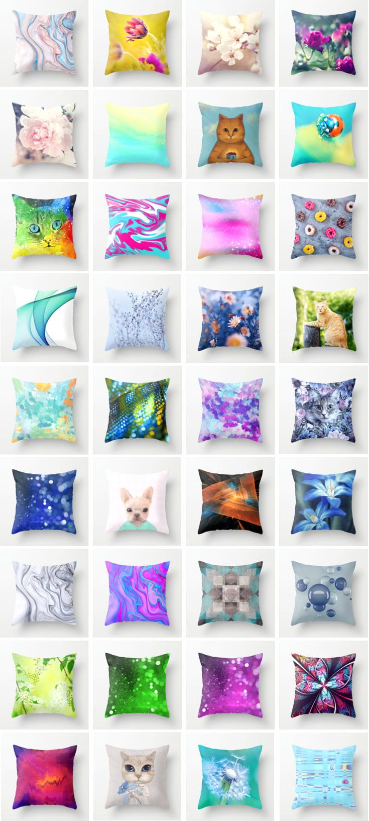 Comfortable THROW PILLOWS on @society6 with my Fine Art Photography for Your Home Decor. All Pillows Available here: https://society6.com/oxygen/pillows?page=1  by @photography_art_decor #OksanaAriskina #Artworks #FineArtPhotography #Cushion #Cosy #Abstract #Other