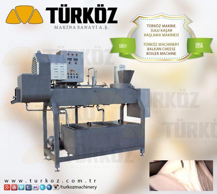 Türköz Machinery Balkan Cheese Boiler Machine (1000 kg/shipment) - Türköz Makina Kaşar Peyniri Sulu Haşlama Makinesi (1000 kg/parti) #balkan #cheese #cheddar #kashkaval #kashkavall #local #feta #kasher #kashar #smetana #edam #gauda #gaudo #curd #yoghurt #yaourt #fromage #kaşar #kasar #peyniri #beyaz #suzme #filtre #yogurt www.turkoz.com.tr