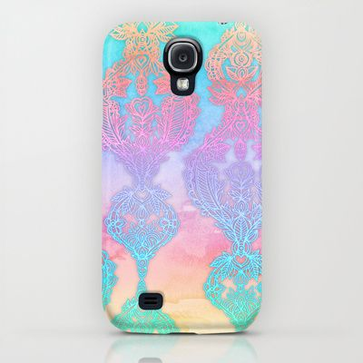 The Ups and Downs of Rainbow Doodles iPhone & iPod Case $35.00