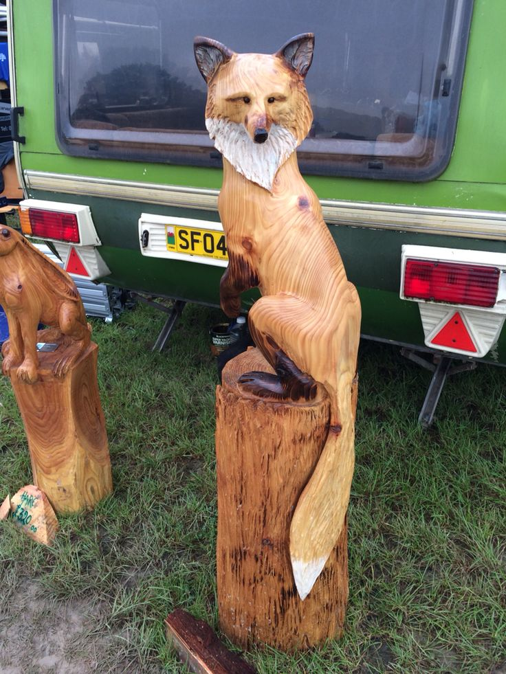 Best wooden carvings fox images on pinterest carved