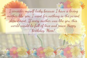 mother birthday wishes