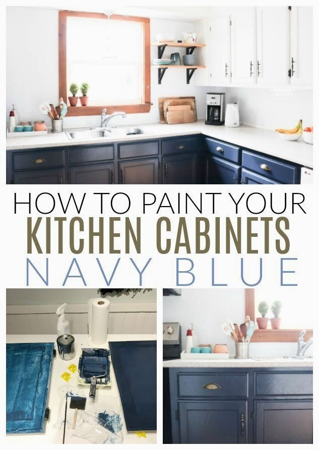 Creative Diy Kitchen Cabinets Plans, How Do You Paint Existing Kitchen Cabinets