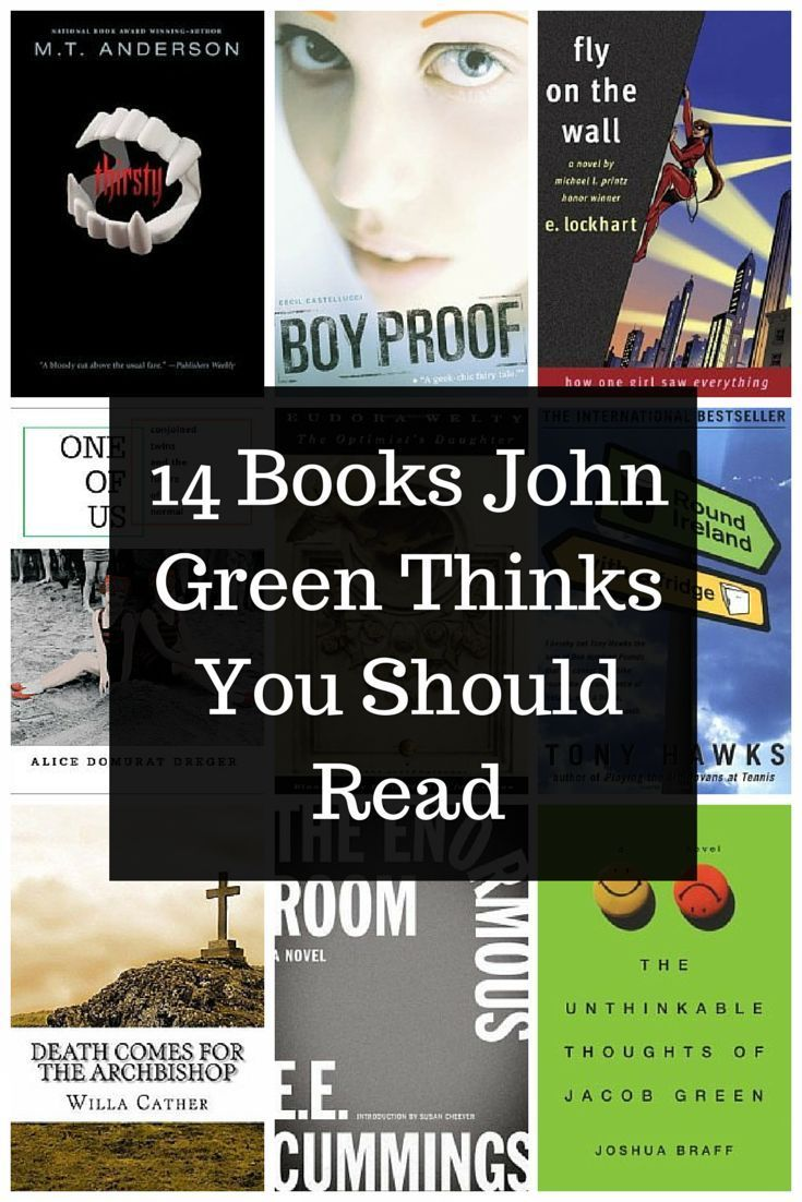 John Green's reading recommendations