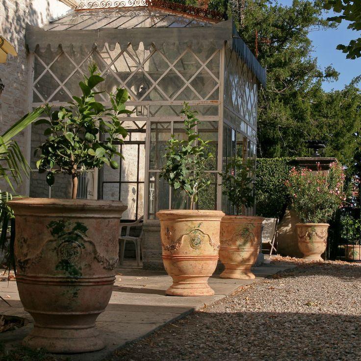 les 462 meilleures images du tableau d co jardin pots containers sur pinterest d co. Black Bedroom Furniture Sets. Home Design Ideas