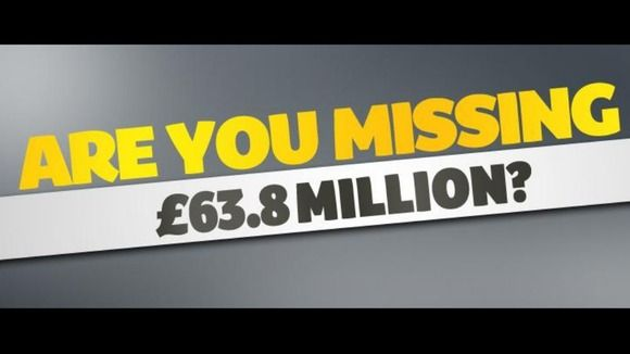 The National Lottery are looking for the lucky prize winner.
