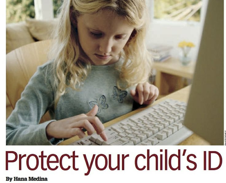 Protect your child's ID by Hana Medina | The Costco Connection | Oct 2013