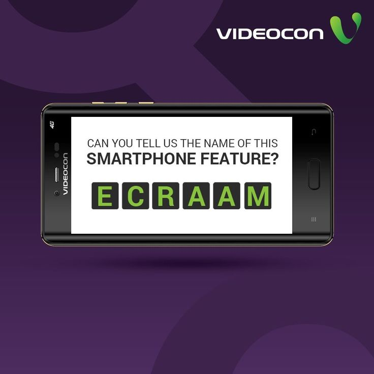 All the selfie lovers can decode this feature! Can you un-jumble this smartphone feature?