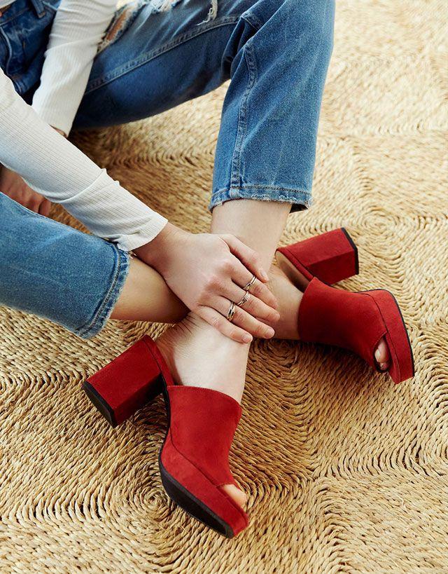 Zapato Tacón - MUJER - Zapatos - Bershka España