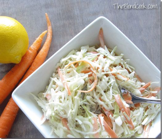 Carolina Slaw by The Blond Cook!