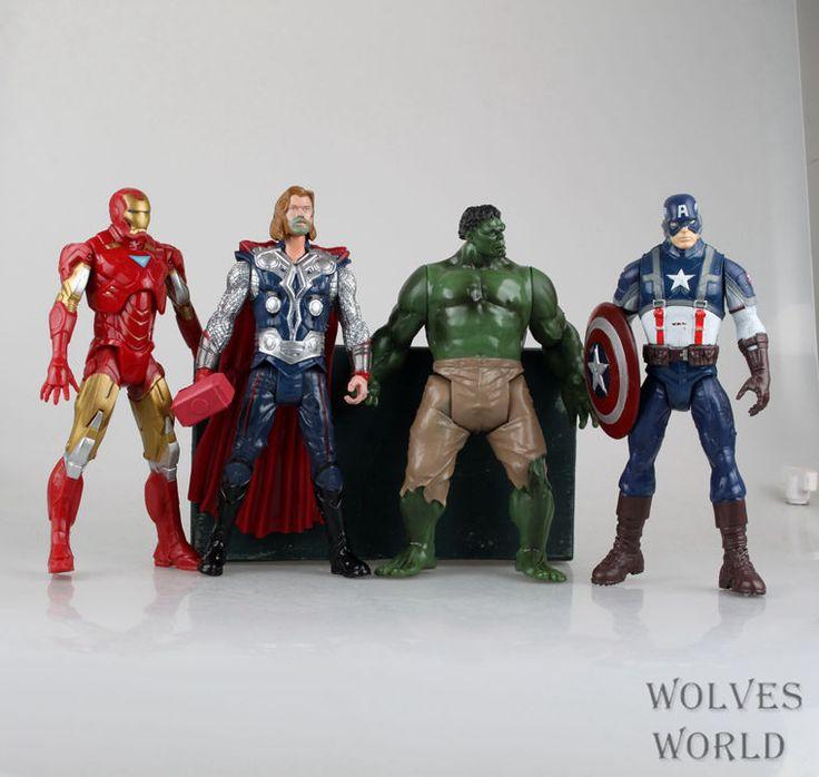 Barato The Avengers capitão homem de ferro Hulk américa Thor boneca quatro móvel deu fazer coleção figura de ação crianças, Compro Qualidade Ação e personagens diretamente de fornecedores da China:             Sobre o transporte:               .   Os itens serão enviados para fora através de um correio aéreo re