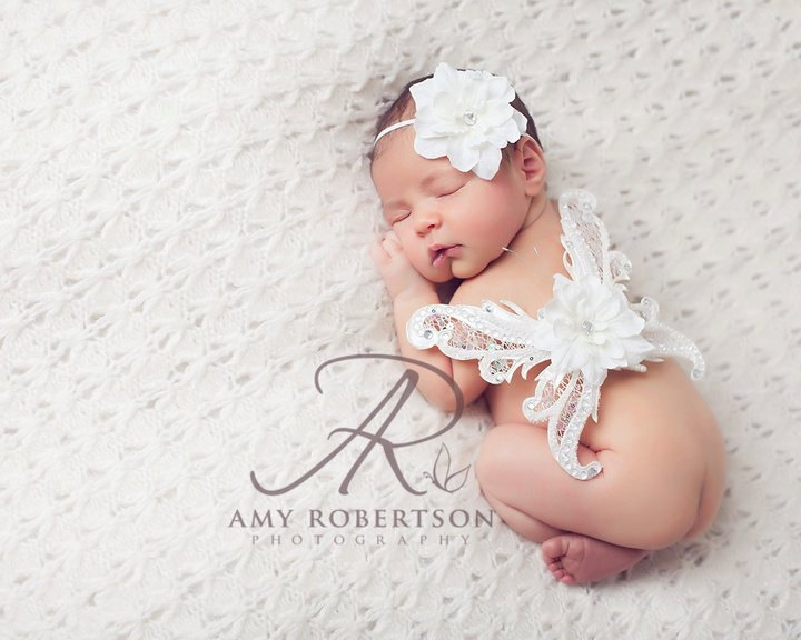 The Nouvelle Collection Angel Wing Set Newborn Butterfly