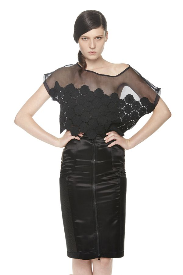 pizzo e organza by ERAKLE