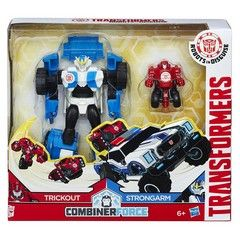 Hasbro Transformers Robots In Disguise Combiner Force Trickout/Strongarm (C0655Eu40)