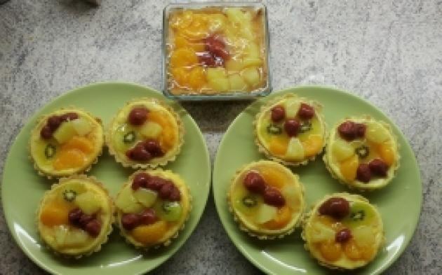 Ovocné košíčky » Pečení je radost