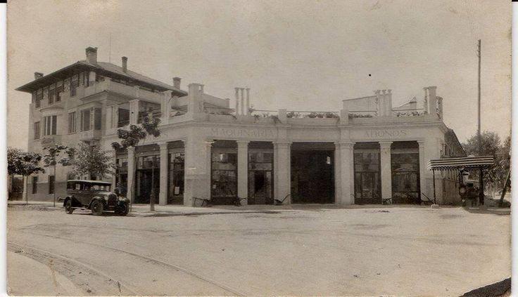 Casa de Adrian Viudes El Rollo. El Carmen. via fotos antiguas de murcia
