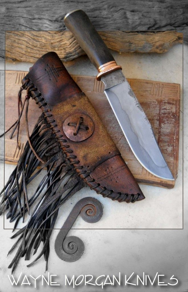 Wayne Morgan Forged Knives.