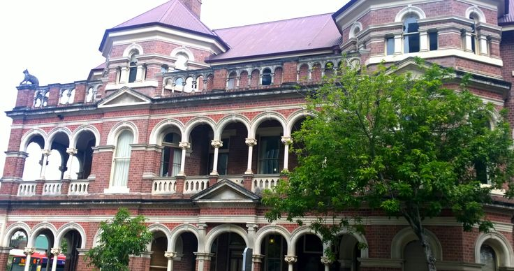 'The Mansions' built in 1890 George Street Brisbane CBD