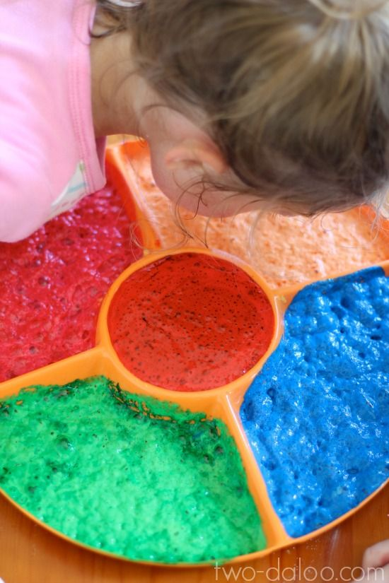 Create magic scented foaming paint with just two ingredients for a fun sensory play and art experience for kids!Sensory Painting, Tempera Painting, For Kids, Create Magic, Scented Foam, Koolaid, Sensory Play, Foam Painting, Magic Scented