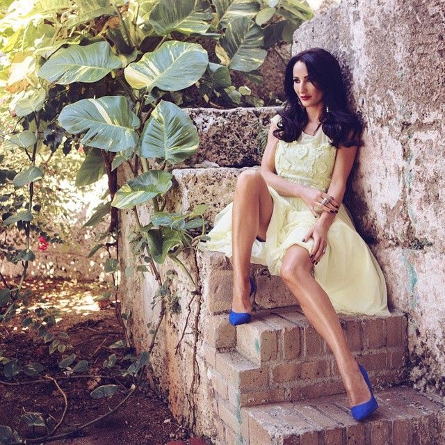 Justyna Steczkowska w szpilkach Kazar #collection #designer #moda #style #shoes #boots #Fashion #wiosna #highfashion #woman #man #trend #comfort #trendy #fashionable #stylish #vogue