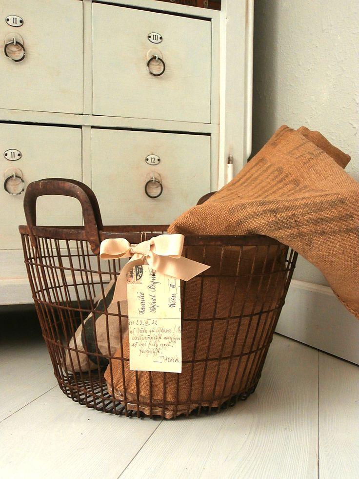 rusty basket