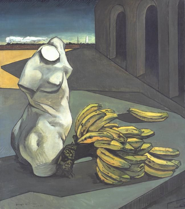 The Uncertainty of the Poet by Georgio De Chirico: