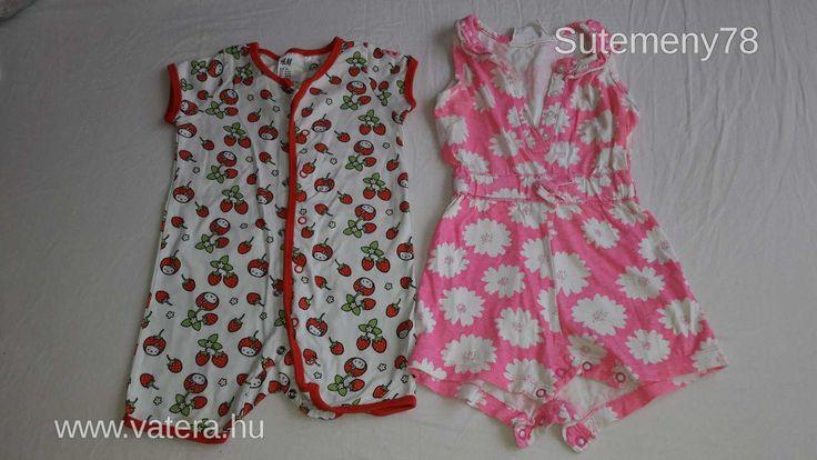 1-2 éves kislányra való ruhacsomag 16 db - os - 1 Ft - Nézd meg Te is Vaterán - 6-20 darabos - http://www.vatera.hu/item/view/?cod=2533939088