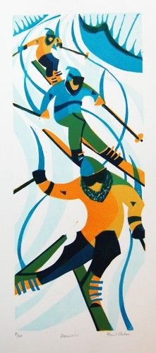 Paul Cleden - Printmaker and Illustrator - Linocuts