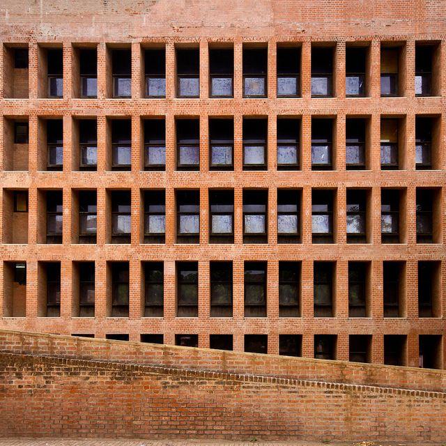 Indian Institute of Management (IIM) Ahmedabad - Louis Kahn by Scott Norsworthy, via Flickr