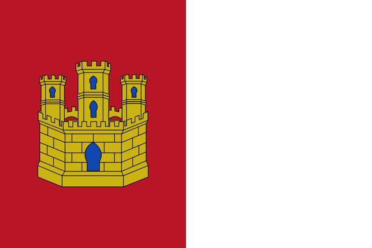 Bandera de la Comunidad Autónoma de Castilla-La Mancha.