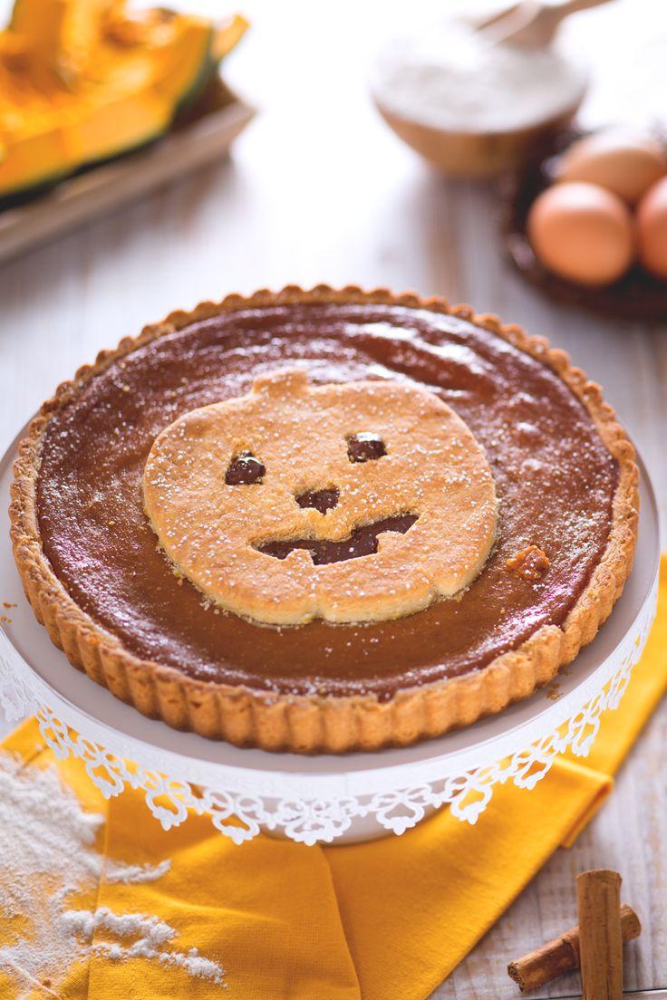 Crostata alla zucca e latte condensato: scopri un'alternativa davvero molto golosa alla classica pumpkin pie made in USA.  [Pumpkin pie with evaporated / condensed milk]