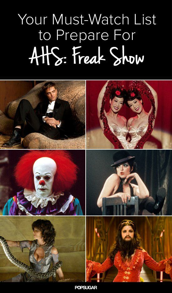 Pin for Later: 13 Things to Watch in Preparation For American Horror Story: Freak Show