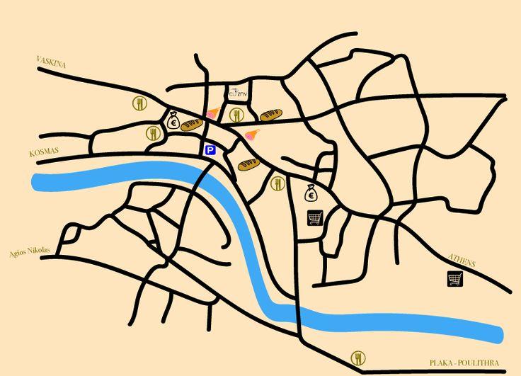 Map of Leonidio