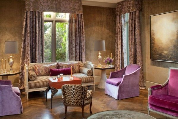 Fisher Weisman: San Francisco, CA Carmel Residence #interiordesign #radiantorchid