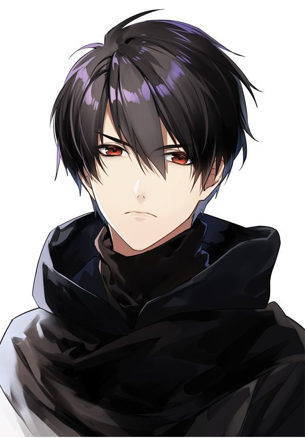 Black Hair Red Eyes Who Is Him I Need To Know Thanks Anime Black Hair Black Haired Anime Boy Dark Anime