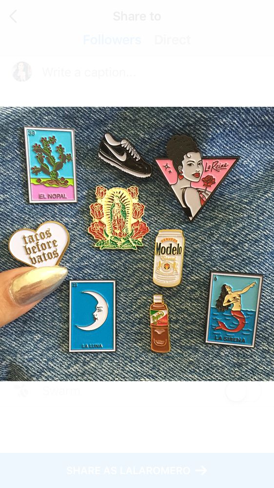 Limited edition 1 to 1 1/4 inch enamel pins sold separately mix X match